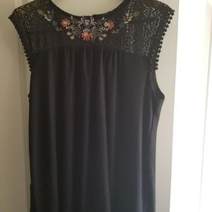 **SOLD** floral tunic